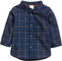 Рубашка H&M 5hm06110055 92 см Темно-синяя (2000000361697) от Rozetka