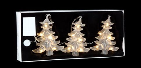 Декоративное украшение Luca Lighting из 3 фигурок Три маленькие ёлки (8718861498646) от Rozetka