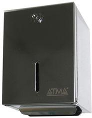 Акция на Держатель для туалетной бумаги ATMA D 402 нержавеющая сталь глянцевая от Rozetka