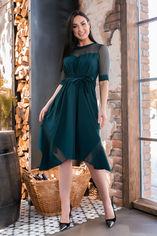 Платье MANOVI 297 52-54 Темно-зеленое (2000000439082_ELF) от Rozetka