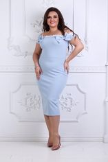 Платье BlackAngel 331 48-50 Голубое (2000000396262_ELF) от Rozetka