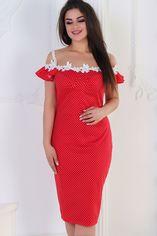 Платье BlackAngel 348/1 52-54 Красное (2000000395593_ELF) от Rozetka