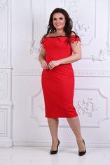 Платье BlackAngel 331 52-54 Красное (2000000396293_ELF) от Rozetka