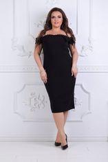Платье BlackAngel 331 48-50 Черное (2000000396309_ELF) от Rozetka