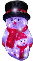 """Декоративная фигурка Luca Lighting """"Сніговик"""" Белый (8718861124507) от Rozetka"""