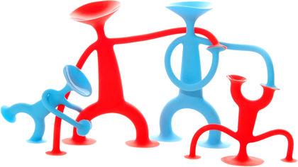 Акция на Развивающая игрушка Moluk Уги Семья 4 шт (43150) (7640153431509) от Rozetka