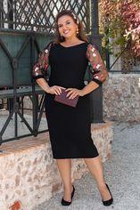 Платье BlackAngel 1333 52-54 Черное (2000000395104_ELF) от Rozetka