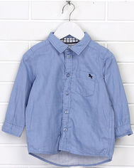 Рубашка H&M 5hm06110049 92 см Голубая (2000000361635) от Rozetka