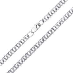 Серебряная цепь Исида в плетении бисмарк 000123393 60 размера от Zlato