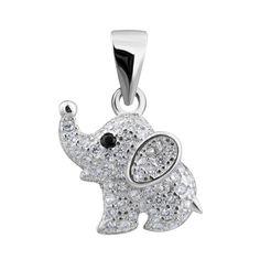 Серебряная подвеска Мышка с фианитами 000132530 000132530 от Zlato