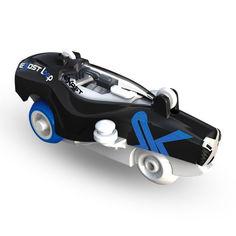 Акция на Машинка Exost Loop Самый быстрый болид голубая (20230/20230-2) от Будинок іграшок