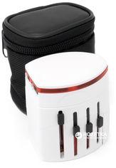 Сетевой дорожный универсальный адаптер ExtraDigital CUA1528 White от Rozetka