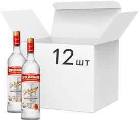 Упаковка водки Stolichnaya 40% 1 л х 12 шт (14750021000161) от Rozetka