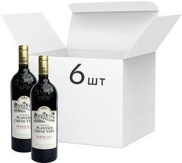 Упаковка вина Les Grands Chais de France Chateau Plantier Chene Vert Bordeaux красное сухое 13.5% 0.75 л х 6 шт (3500611160331) от Rozetka