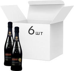 Акция на Упаковка вина игристого Tosti Prosecco D.O.C. белое экстра-сухое 11% 0.75 л х 6 шт. (8034042196751) от Rozetka