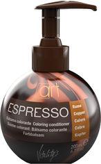 Бальзам для волос Vitality's Espresso Восстанавливающий с оттеночным эффектом Copper 200 мл (8012603015659) от Rozetka