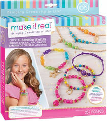 Набор для создания шарм-браслетов Make it Real Хрустальная радуга (MR1315) (695929013158) от Rozetka