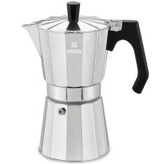 Кофеварка гейзерная Vinzer Moka Espresso Induction 6 чашек 89383 от Podushka