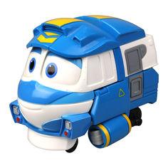Акция на Паровозик-трансформер Silverlit Robot trains Кей 10 см (80164) от Будинок іграшок