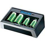 Универсальное зарядное устройство VARTA AA/AAA LCD Universal Charger (57678101401) от Foxtrot