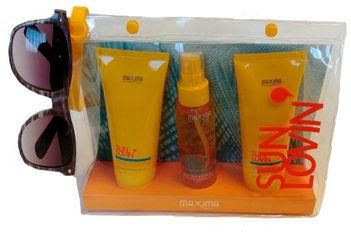 Тревел-набор Maxima Travel Kit Sun Lovin' Шампунь-гель для душа 100 мл + Маска для волос 100 мл + Спрей для волос 90 мл (8030778701061) от Rozetka