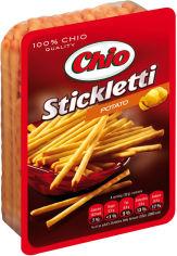 Акция на Упаковка соломки Chio Stickletti Potato соленая со вкусом жареной картошки 80 г х 30 шт (5996253000872) от Rozetka