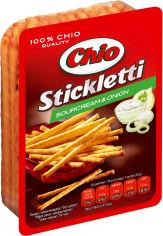 Упаковка соломки Chio Stickletti соленая со вкусом сметаны и лука 80 г х 40 шт (15997312762622) от Rozetka