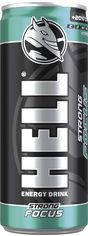 Акция на Упаковка энергетического напитка Hell Energy Focus Strong 0.25 мл х 24 банки (5999885747740) от Rozetka