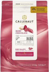 Бельгийский шоколад Callebaut Ruby - RB1 2.5 кг (5410522576856) от Rozetka