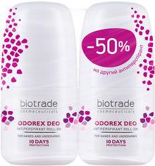Набор антиперспирантов Biotrade Odorex длительного действия 40 мл х 2 шт (второй дезодорант длительного действия Odorex за полцены) (3800221841263) от Rozetka