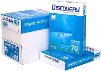 Акция на Набор бумаги офисной Discovery A4 70 г/м2 класс В+ 2500 листов Белой (5602024328426) от Rozetka