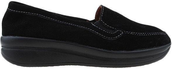 Мокасины Zoja's shoes R75211-11 36 (22.5 см) Черные (H2000029536793) от Rozetka