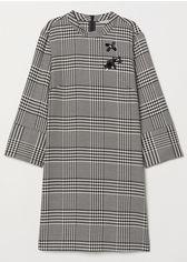 Платье H&M 6257738 36 Черно-белое в клетку (hm03738480151) от Rozetka