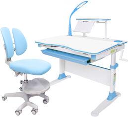 Комплект Evo-kids Evo-30 BL + Y-408 KBL стол + лампа + кресло Mio-2 Голубой от Rozetka