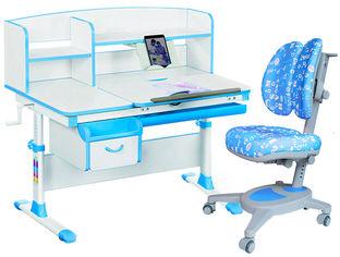 Комплект Evo-kids Evo-50 BL + кресло Y-115 ABK (Evo-50 BL + Y-115 ABK) от Rozetka