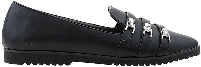 Слиперы Morento R0014-0145-2 37 (23.5 см) Черные (H2000029535741) от Rozetka