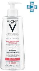 Мицеллярная вода Vichy Purete Thermale для чувствительной кожи лица и глаз 400 мл (3337875674928) от Rozetka
