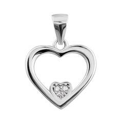 Серебряная подвеска с фианитами 000132513 000132513 от Zlato