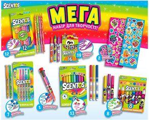 Акция на Ароматный набор для творчества - МЕГАКРЕАТИВ (фломастеры, карандаши, ручки, маркеры, наклейки) от Stylus