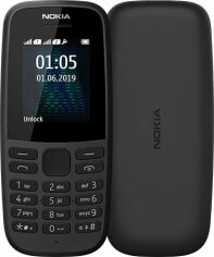 Мобильный телефон Nokia 105 2019 (16KIGB01A13) Black от Територія твоєї техніки