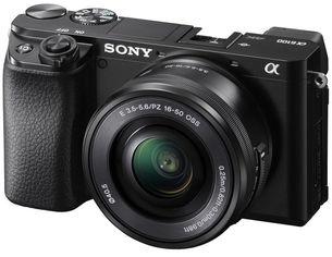Фотоаппарат SONY Alpha a6100 + 16-50 Black (ILCE6100LB.CEC) от MOYO