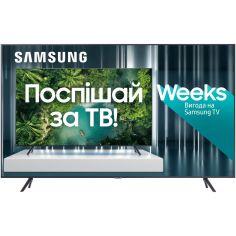 Акция на Телевизор SAMSUNG UE43TU7100UXUA от Foxtrot