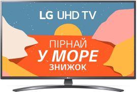 Акция на Телевизор LG 50UN74006LB от Rozetka