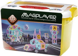 Конструктор магнитный Magplayer 121 элемент (MPT2-121) от Rozetka