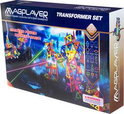 Конструктор магнитный Magplayer 208 элементов (MPB-208) от Rozetka
