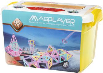 Конструктор магнитный Magplayer 95 элементов (MPT2-95) от Rozetka