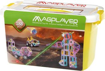 Конструктор магнитный Magplayer 188 элементов (MPT2-188) от Rozetka
