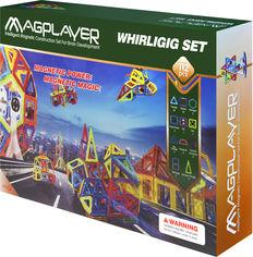 Конструктор магнитный Magplayer 112 элементов (MPB-112) от Rozetka