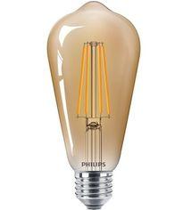 Акция на Лампа светодиодная Philips LEDClassic 5.5-48W ST64 E27 825CL_GNDAPR от MOYO
