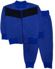 Акция на Спортивный костюм Малыш Style Однотонный КС-14 52 р 86-92 см Электрик (ROZ6400006360) от Rozetka